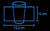 Área de impressão Copo 400ml
