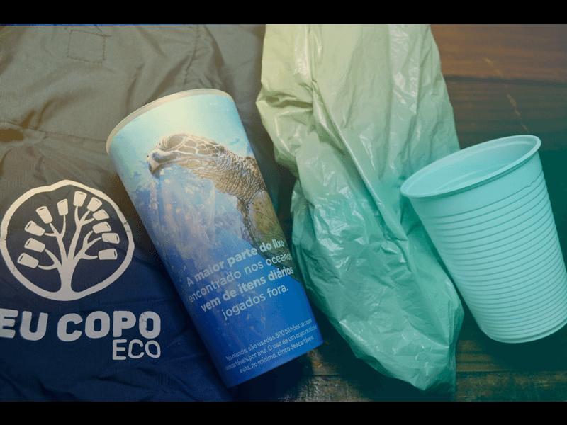 Por que o copo reutilizável é a melhor opção para eventos?