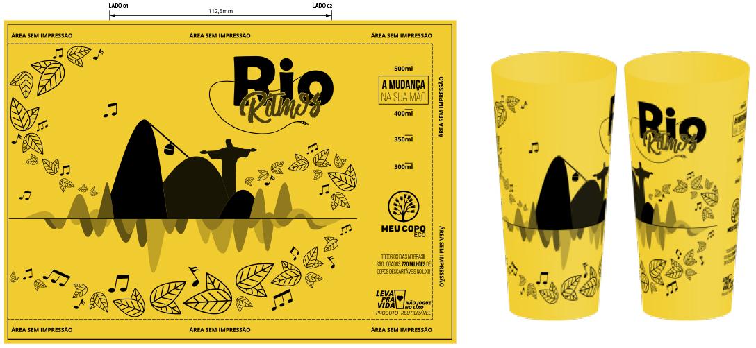 Copo Rio Ritmos