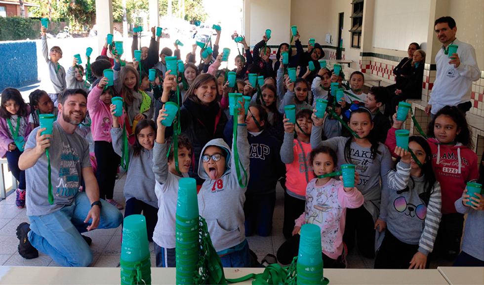 Programa de doação de Copo Eco®