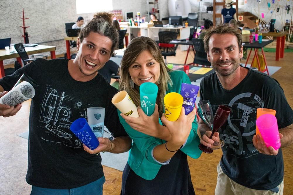 Empresa em SC reutiliza copos e ajuda grandes eventos a lidar com resíduos de forma eficiente